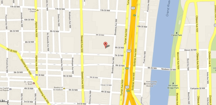 Located between Broadway & Seward, north of 7th st. and south of 9th st.